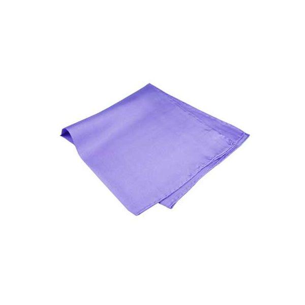 Deep Lilac Silk Handkerchief
