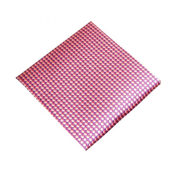 Purple and Pink Scales Top Pocket Hankie