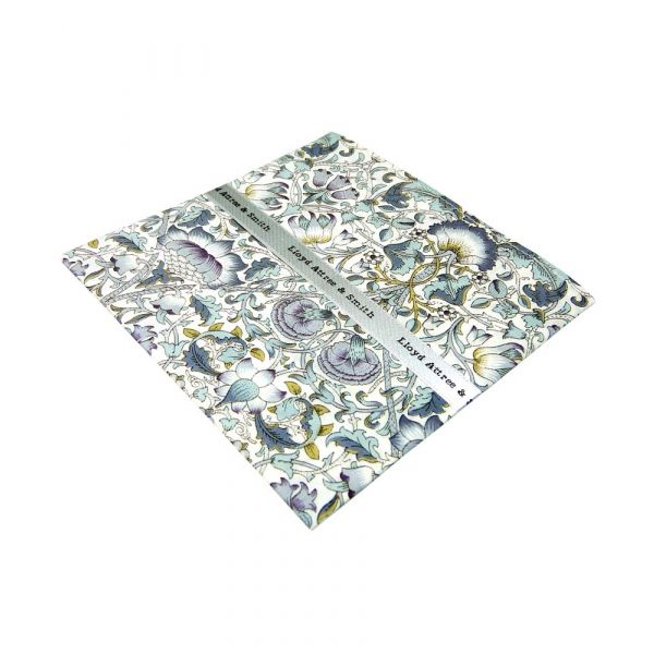 Liberty Print Lodden Design in Sage Cotton Pocket Hankie