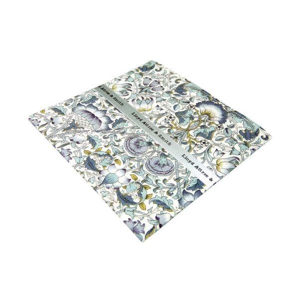 Liberty Print Lodden Design in Sage Cotton Pocket Hankie
