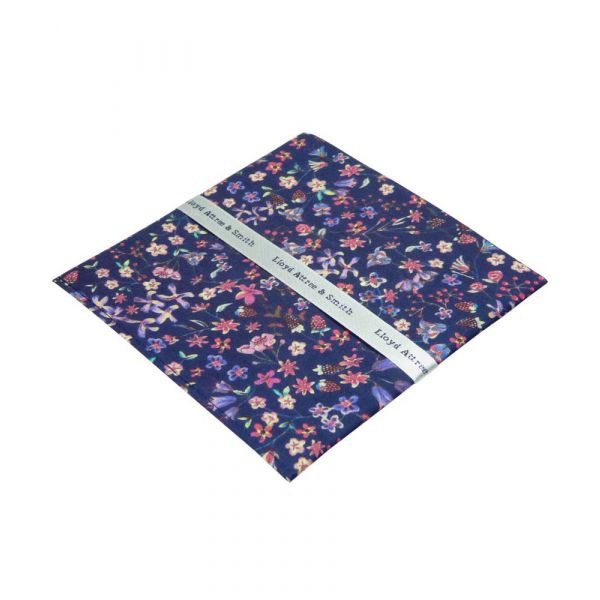 Liberty Print 'Donna Leigh' Design Cotton Pocket Hankie