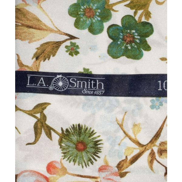 Liberty Print 'Heidi' Design in Ivory Silk Hankie