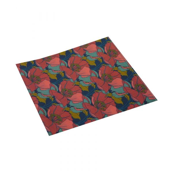 Made with Liberty Fabric Cotton Pocket Square - Little Eustacia Multi Floral