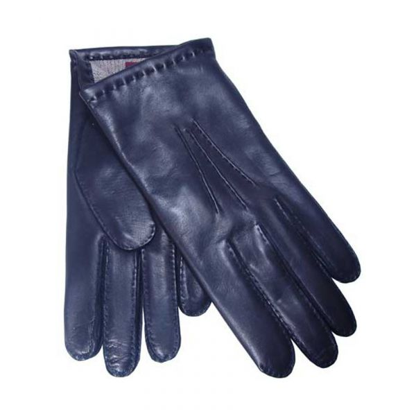 Dents Black Cashmere Lined Gents Nappa Leather Gloves