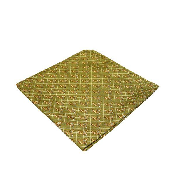 Partridges Silk Handkerchief
