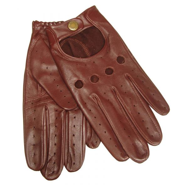 Tan Mens Driving Gloves From Dents