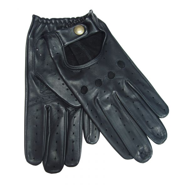 Mens Black Driving Gloves From Dents