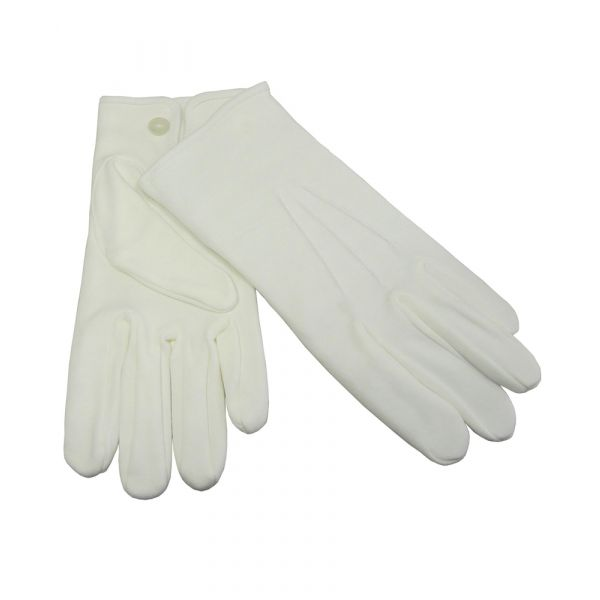 White Cotton Gloves from Dents