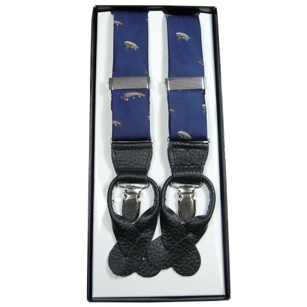 Navy Fishermans Braces