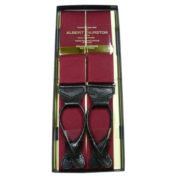 Albert Thurston Wine Button Attach Braces