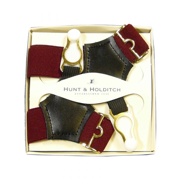 Wine Sock Suspenders from Hunt & Holditch