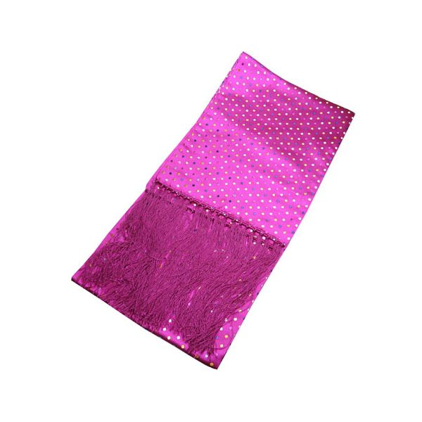 Pink with Multi Coloured Spots Dress Scarf