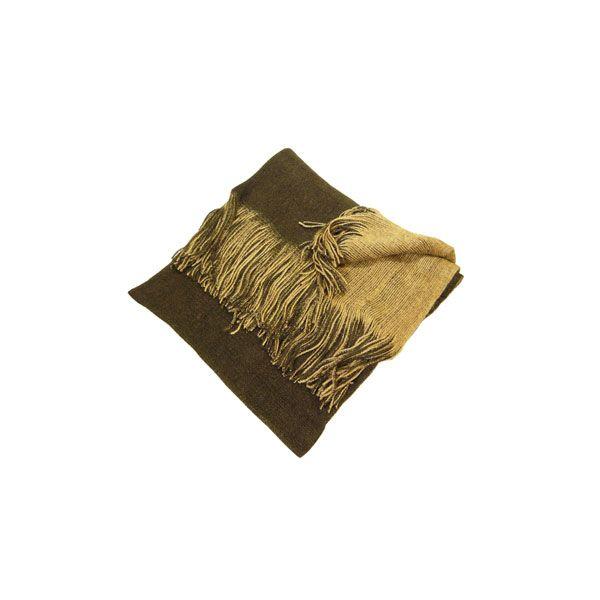 Brown & Beige Reversible Scarf