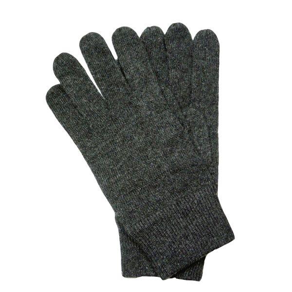 Dark Grey Cashmere Gloves