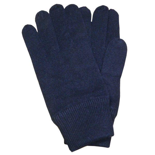Navy Cashmere Gloves