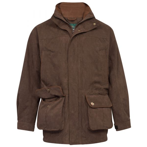 Mens Waterproof Coat in Oak. The Cambridge from Alan Paine