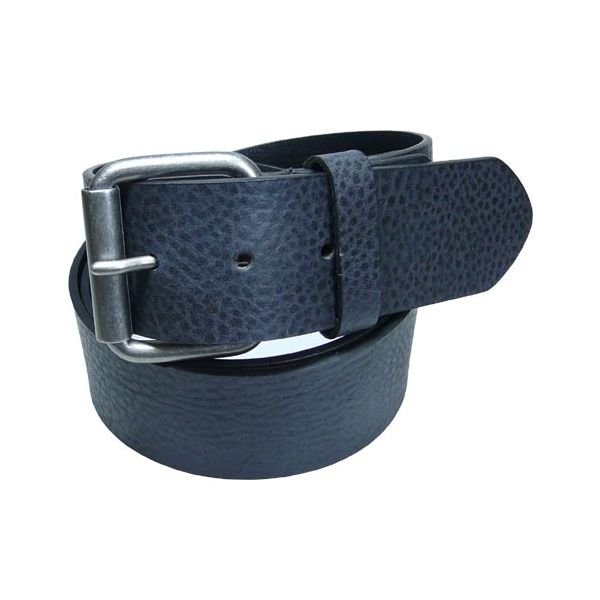 Black Leather Jeans Belt from Dents
