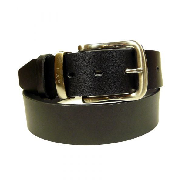 Black Leather Jeans Belt from Lloyd Attree Smith