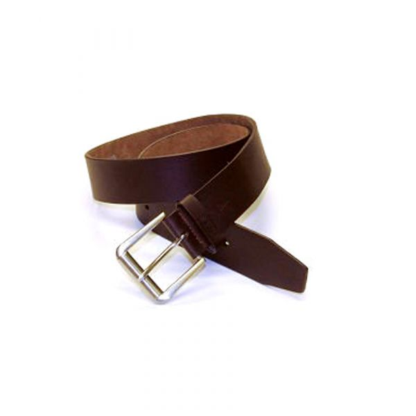 Brown Leather Jeans Belt from Lloyd Attree Smith
