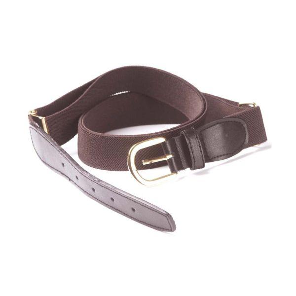 Brown Elastic Belt