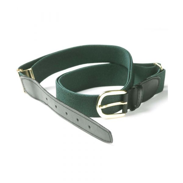 Dark Green Elastic Belt