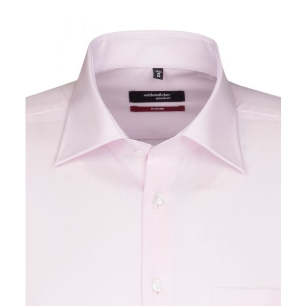 Pink Cotton Shirt. Modern Fit from Seidensticker