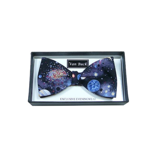 Planets Pre Tied Bow Tie from Van Buck