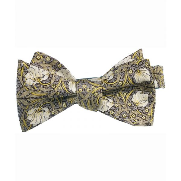 Morris Pimpernel Silk Bow Tie from Fox & Chave