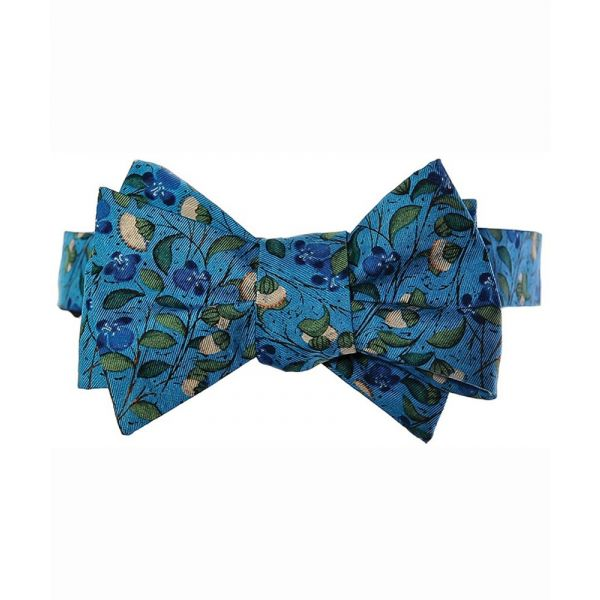 Medieval Flowers Self Tie Bow Tie from Fox & Chave