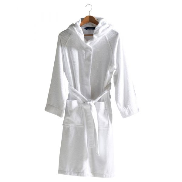 Brixton - Hooded Cotton Bathrobe from Christy
