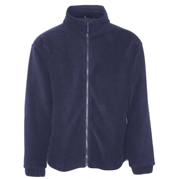 Glen. Navy Fleece Jacket from Champion