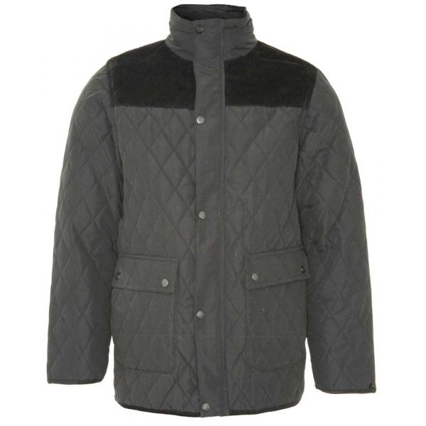 Lewis - Black Microfibre Jacket from The Country Estate Range by Champion