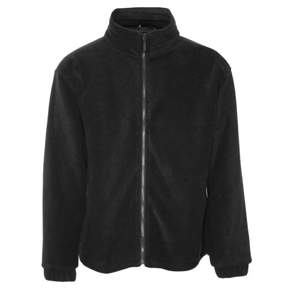Glen. Black Fleece Jacket from Champion