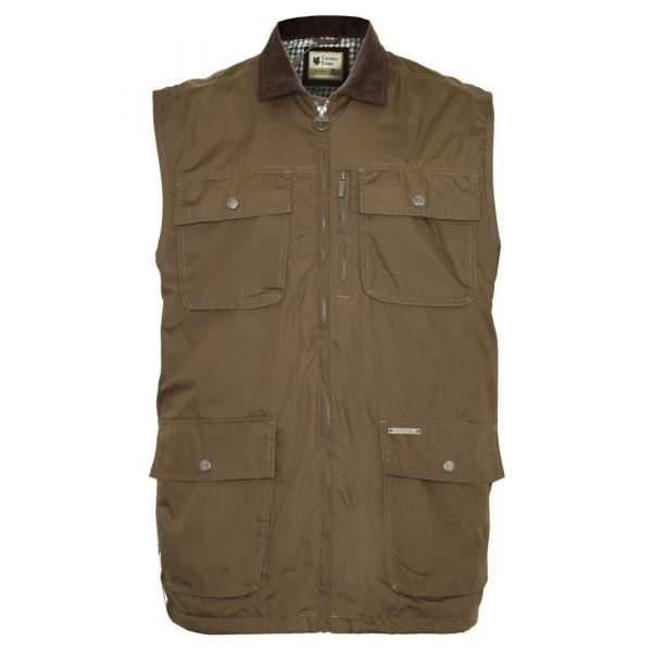 Silverdale. Olive Bodywarmer from The Country Estate Range