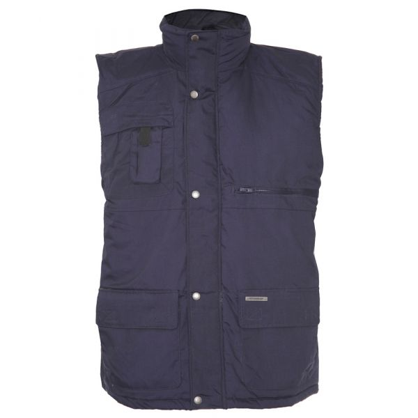 Peak. Navy Quilted Bodywarmer from The Country Estate Range by Champion