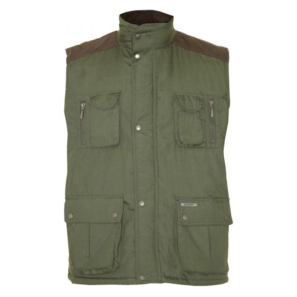 Exmoor. Olive Bodywarmer from Champion