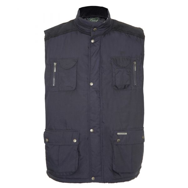 Exmoor. Navy Bodywarmer from Champion