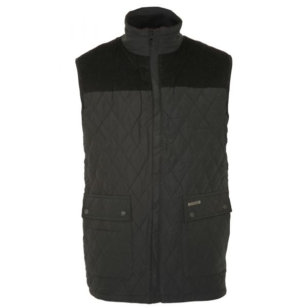 Arundel. Black Bodywarmer from The Country Estate Range by Champion