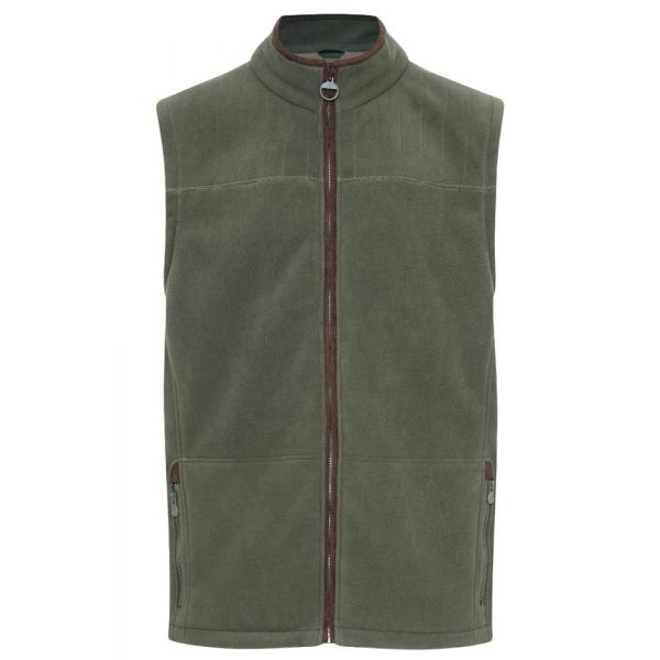 Portree Olive - Microfleece Gilet from Champion
