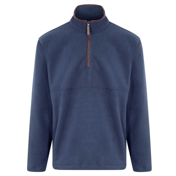 Oban - Navy Microfleece Quarter Zip Jacket from Champion