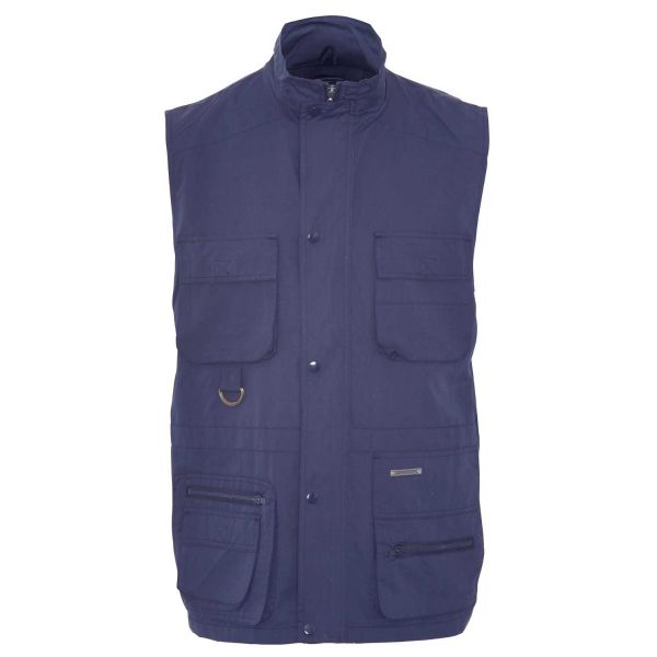 Windermere Navy - Microfibre Bodywarmer with Mesh Lining from Champion