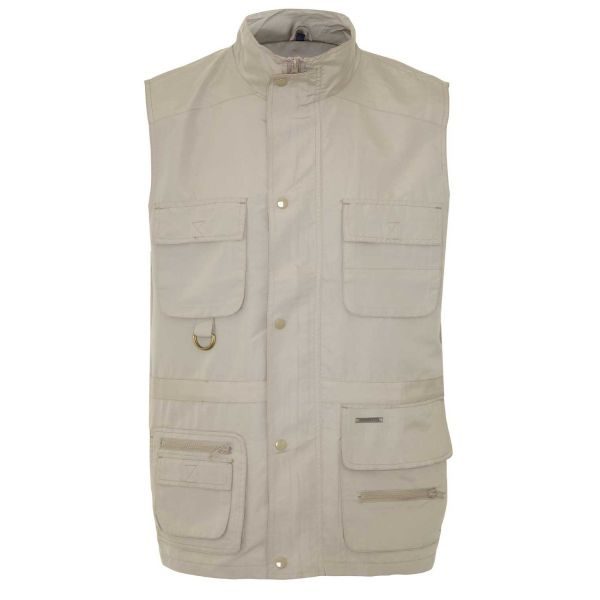 Windermere Stone - Microfibre Bodywarmer with Mesh Lining from Champion
