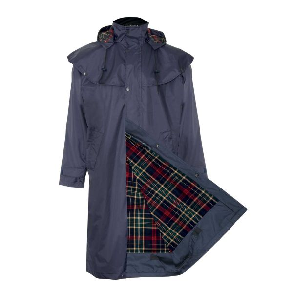 Highgrove Navy - Waterproofed Cape Coat from Champion
