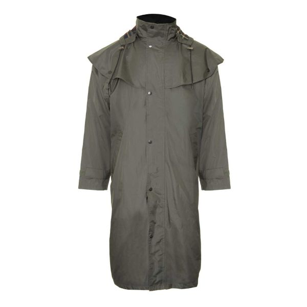 Highgrove Olive - Waterproofed Cape Coat from Champion