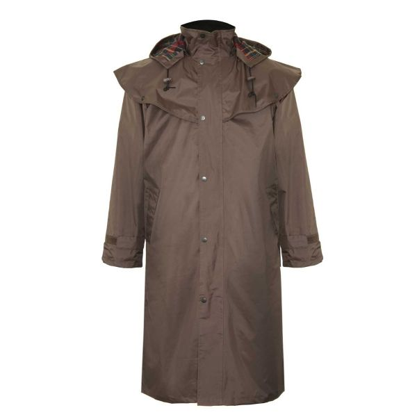 Highgrove Brown - Waterproofed Cape Coat from Champion