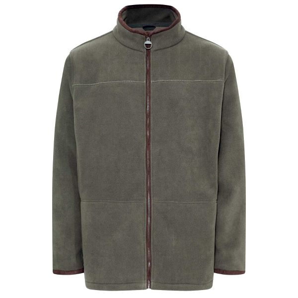Berwick Olive - Microfleece Jacket from Champion