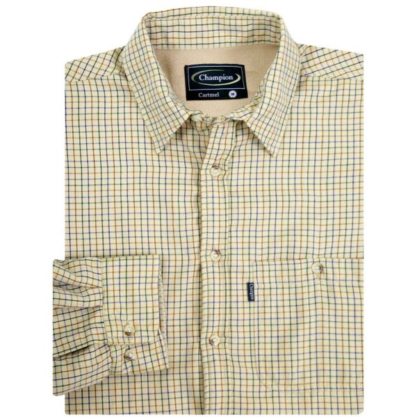 Cartmel Stone - Microfleece Lined Shirt from Champion