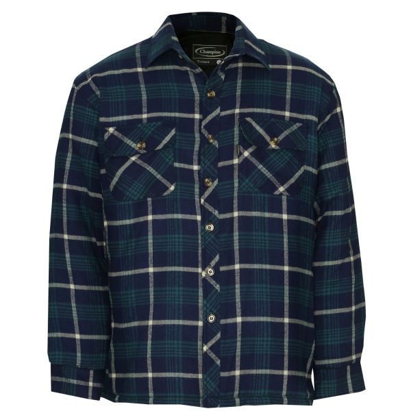 Totnes - Shirt with Quilted Lining from Champion