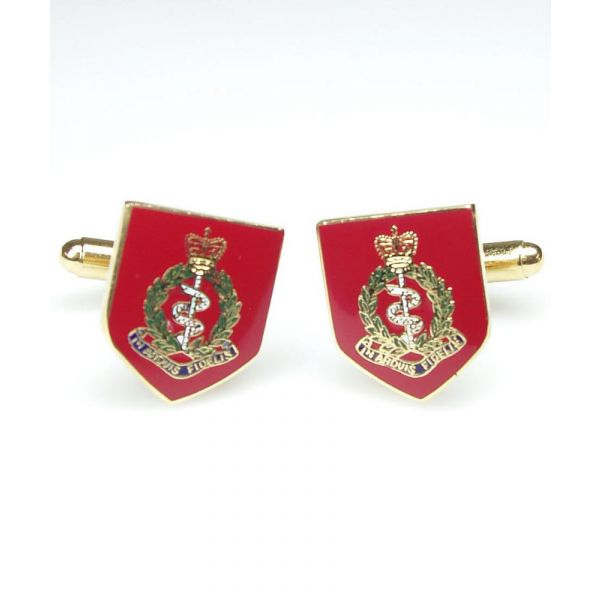 Royal Army Medical Corp cufflinks