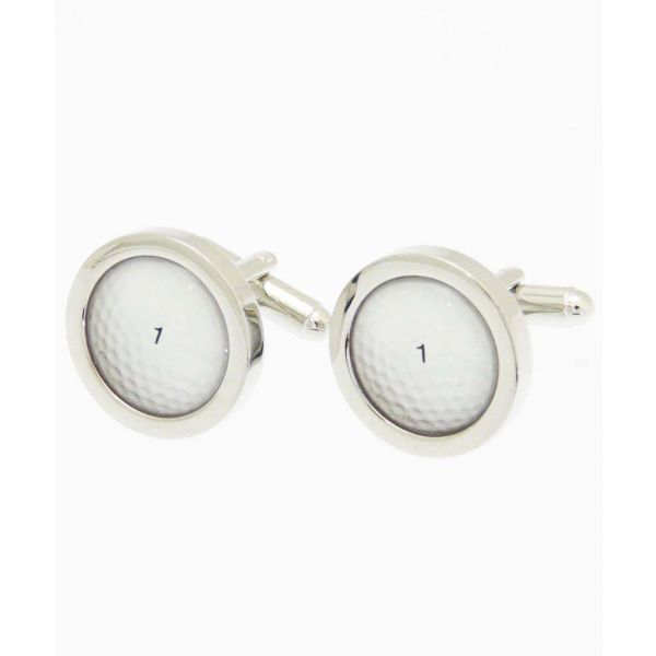 Golf Ball Cufflinks from Fox and Chave